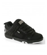 DVS Comanche - Black Nubuck - Skateboard Shoes