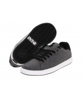 DVS Gavin 2 - Grey Chambray - Skateboard Shoes