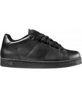 DVS Revival - Black Pebble Leather - Skateboard Shoes