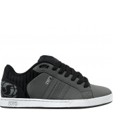 DVS Charge - Grey/Black Nubuck - Skateboard Shoes