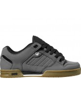DVS Militia - Grey Nubuck - Skateboard Shoes