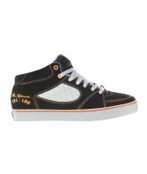 ES Square One Mid - Men's Shoes Black / Orange / White