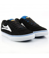 Lakai Manchester Select Mo Knows - Men's Shoes Black / Royal