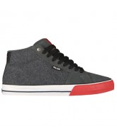 Fallen Corsair - Men's Shoes Charcoal / Red