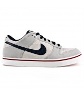 Nike Dunk SE - Men's Shoes Tech Grey / White / Sport Red / Obsidian