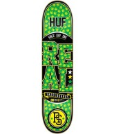 Real Huff Lock Up Lg - Green - 8.25 - Skateboard Deck