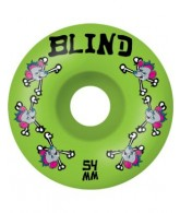 Blind Skate Rat Bones Wheels - Green - 54mm - Skateboard Wheels