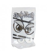 Shorty's Doh Doh Bushings, White/98 - Skateboard Bushings