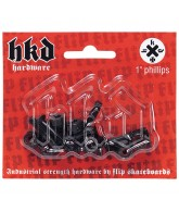 Flip HKD Phillips Hardware 7/8 in pks/8 - Skateboard Mounting Hardware