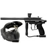 Kingman Spyder Sonix Paintball Gun Players Kit - Olive