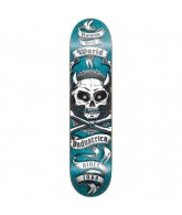 World Industries Horny Skull Mini - Blue - 7 - Skateboard Deck