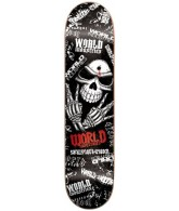 World Industries Greaper 2 Mini - Black - 7 - Skateboard Deck