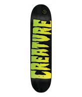 Creature Logo Stain MD Powerply 31.7 in 8.26 in - Skateboard Deck