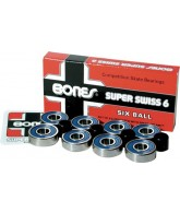 Bones Super Swiss 6 Competition Bearings - Skateboard Bearings