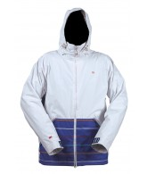 Four Square Searle - White / Reflex A Poppin - Snowboarding Jacket