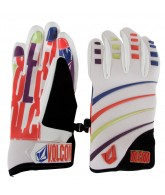 Volcom Super Duper Pipe - White - Men's Gloves