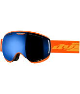 Dye CLK Orange Snowboard Goggles w/ 2 Additional Lenses - Blue Ice Polarized