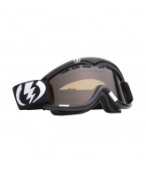 Electric EG1 2011 - Gloss Black / Bronze Frame - Silver / Chrome Lens - Snowboard Goggles