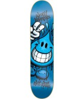 World Industries Raw Wet Willy - Blue - 7.6 - Skateboard Deck