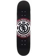 Element Elemental Seal PP - Black - 7.87 - Skateboard Deck