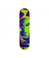 Alien Workshop RD Overlord Small - Purple/Green - 7.75 - Skateboard Deck