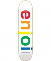 Enjoi Spectrum R7 - White - 7.6 - Skateboard Deck