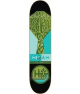 Habitat The Beard Bamboo - Green/Turquoise - 8 - Skateboard Deck