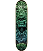 Darkstar Muerte R7 Adam Dyet - Black/Blue/Green - 8.1 - Skateboard Deck