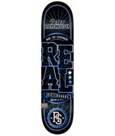 Real Ramondetta Lock Up BW SM - Black - 7.81 - Skateboard Deck