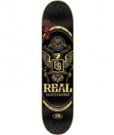 Real Passport Md - Black - 8.12 - Skateboard Deck
