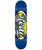 Real Brock Colorblast - Blue - 8.25 - Skateboard Deck