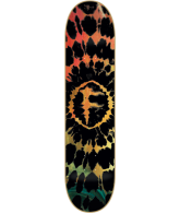 Foundation Astral Traveler - Orange - 8.25 - Skateboard Deck