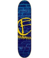 Foundation The Mark PP - Blue - 8.5 - Skateboard Deck