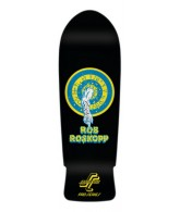 Santa Cruz Skate Rob Target 1 Black Reissue 31.4 in 10 in - Skateboard Deck