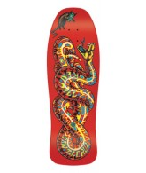 Santa Cruz Skate Kendall Snake Red Reissue 30 in 10 in - Skateboard Deck