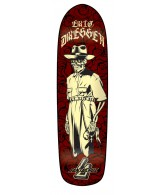 Santa Cruz Dressen Skeleton Powerply - Red - 8.75 x 31.9 - Skateboard Deck