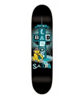 Santa Cruz Salba Badlands Salba Cruz - Black - 32.5 x 8.6 - Skateboard Deck