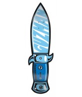 Santa Cruz Guzman Switchblade Powerply - Blue - 32.7 x 7 - Skateboard Deck