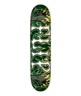 Flip Skateboards Team Alchemy Yellow Green Deck - 32.31 in 8.25 in