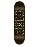Flip Team Metalhead - Black - 32.15in x 8.23in - Skateboard Deck