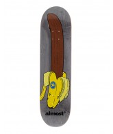 Almost Chocolate Banana R7 - Grey - 8.4 - Skateboard Deck