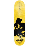 Cliche Europe LUX R7 - Skateboarding Deck - Yellow - 7.6