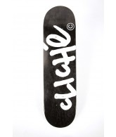 Cliche Handwritten R7 - Black/White - 8.0 - Skateboard Deck