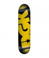 DGK Price Point Yellow - 7.63 - Skateboard Deck