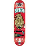 DGK Rivas Dirty Ghetto League - Red - 8.06 - Skateboard Deck