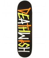 Deathwish Deathspray Multi - Black/Orange - 8.0 - Skateboard Deck