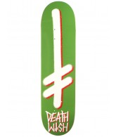 Deathwish Gang Logo - Green/White - 8.0 - Skateboard Deck