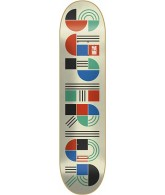 Superior Shapes White/Multi - 8.0 - Skateboard Deck
