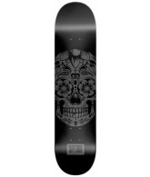 Superior Sugar Skull Solo - Black - 8.0 - Skateboard Deck
