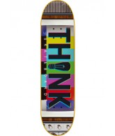 Think Logo Deck Airwaves - Bars - 8.375 - Skateboard Deck